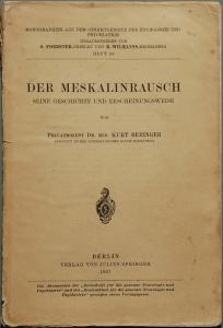 Der Meskalinrausch - Die Habilitationsschrift Kurt Beringers   CC-BY H.-P.Haack