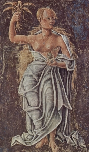 Demeter - Fresko von Cosmè Tura (gemeinfrei)