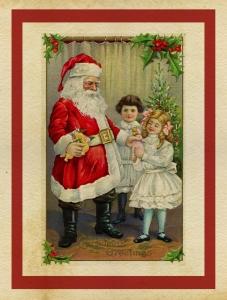 Der Weihnachtsmann gilt als Schutzpatron und Beschenker aller Kinder (Bild: Public Domain)