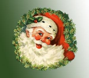 """Das Design des modernen Weihnachtsmanns ist stark beeinfluss von Moritz Schwinds Nikolausfigur """"Herr Winter"""" (Bild: Public Domain)"""