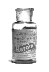 Originales Heroin (Diacetylmorphin) von Bayer